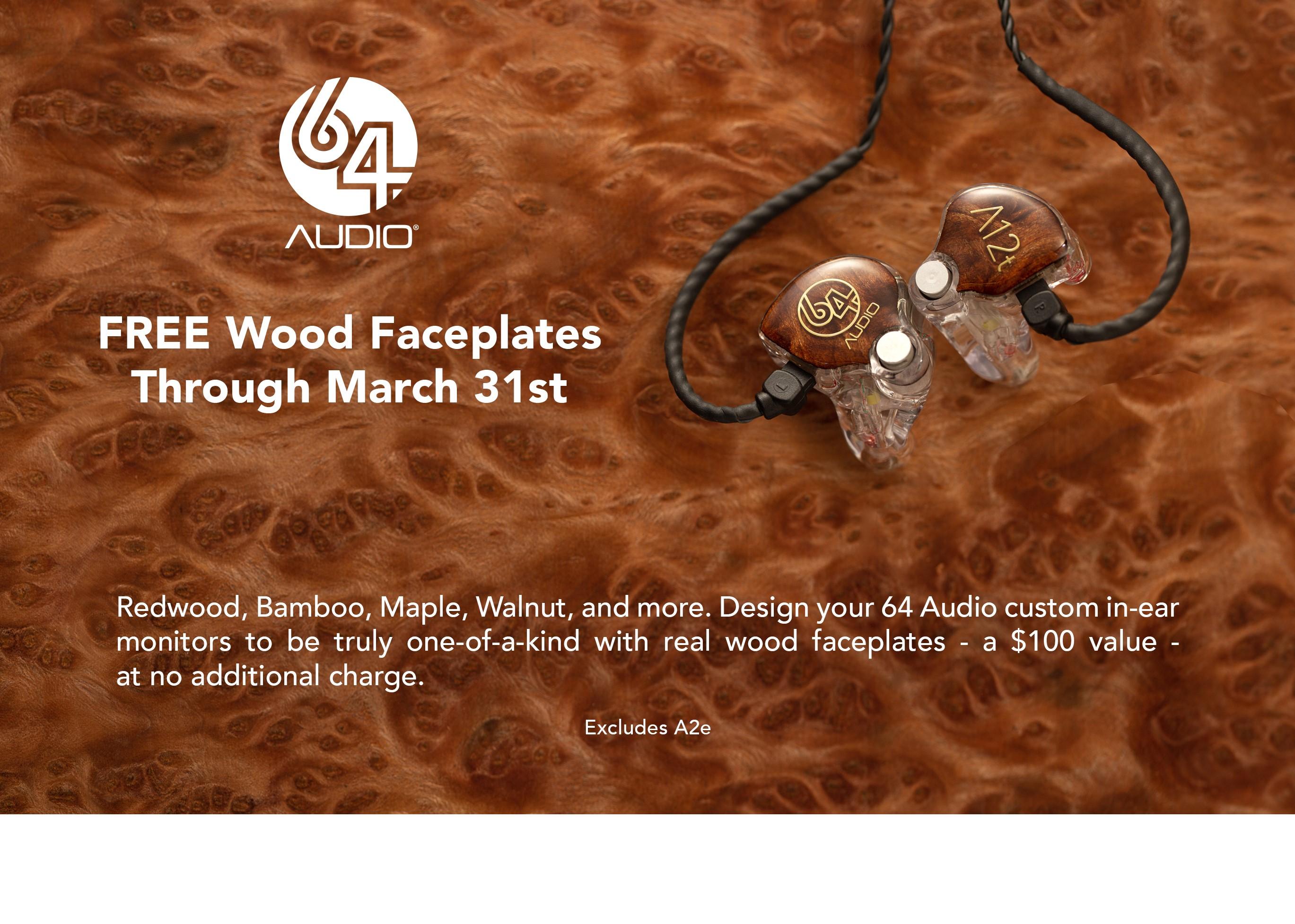 Musician Monitors of NY JHAudio Special Wood You,